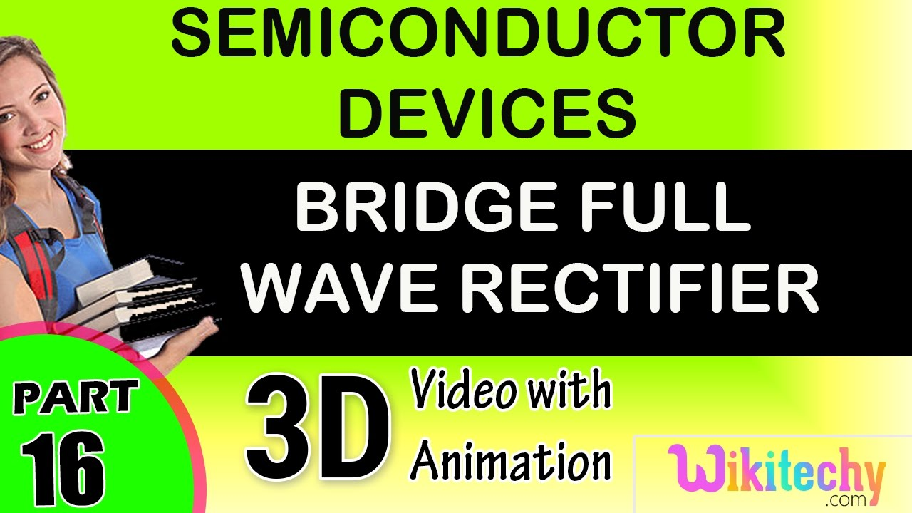 Bridge Full Wave Rectifier Semiconductor Devices Class 12 Physics With Capacitor Filter Public Circuit Online Subject Notes Lectures Cbse Iit