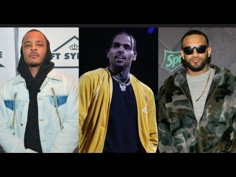 """T.I, Boosie & Joyner Lucas GO OFF In Support Of Friend Chris Brown, """"The Chick Tryna Set Him Up"""""""
