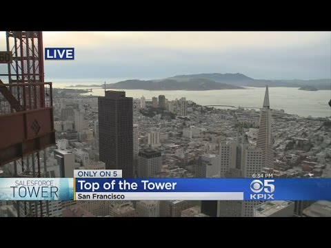 San Francisco Skyline Takes New Shape With Salesforce Tower