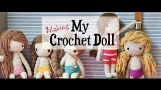 Making My Crochet Doll