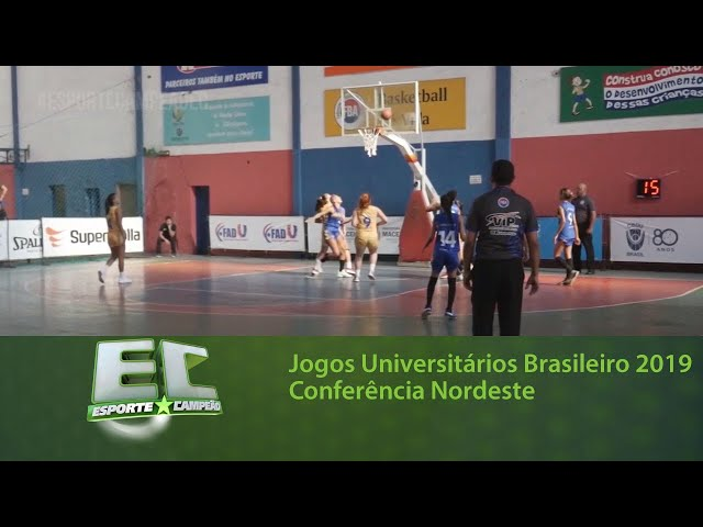 Maceió sediou os Jogos Universitários Brasileiro 2019 - Conferência Nordeste