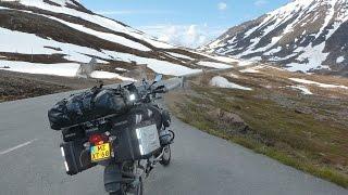 Motorreis Noordkaap 2015