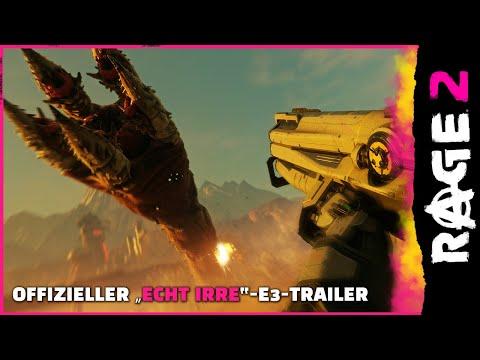 """RAGE 2 –Offizieller """"Echt irre""""-E3-Trailer"""