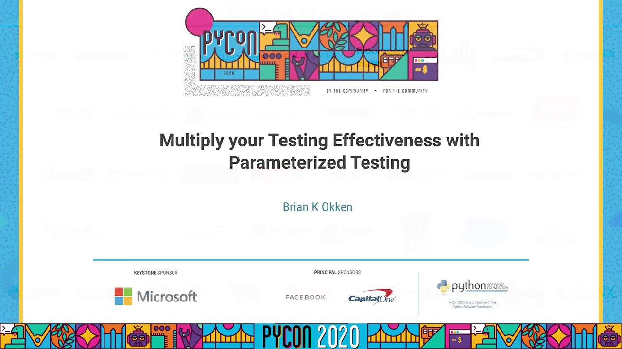 Image from Multiply your Testing Effectiveness with Parameterized Testing