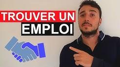 🏆 TROUVER UN EMPLOI RAPIDEMENT (Les clés de la recherche d'emploi)