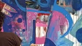 Jesse Reno Mexico City Mural Live Paint thumbnail