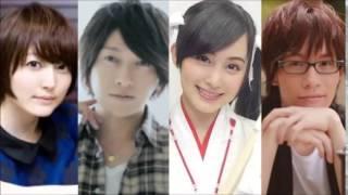 花ちゃん、小野D、トシ君、MAOちゃんの四人が自身のキャラとデュラララについて熱く語っています。デュラララが違った見方ができるかもですよ...