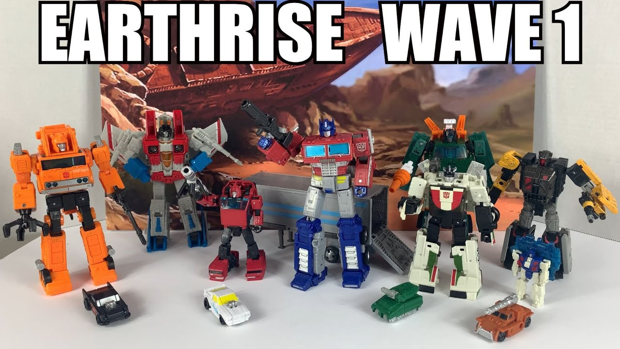 Transformers Earthrise Wave 1 Summary and Observations By Enewtabie