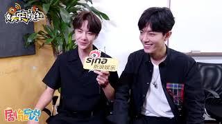 190714 Wang Yibo & Xiao Zhan - interview for SINA entertainment Part2