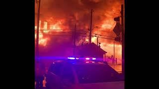 cuscús tinta leninismo  Marcal Paper Mill Fire Elmwood Park, NJ 1-30-19 - YouTube
