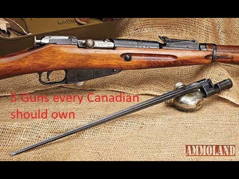 5 Guns Every Canadian Should Own!
