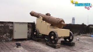 Trận địa 4 khẩu thần công ở Đại Nội Huế trước giờ khai hỏa