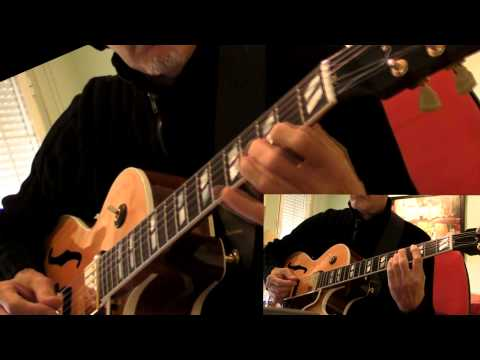 Autumn Leaves (two guitars & bass) Gibson L4-CES Custom