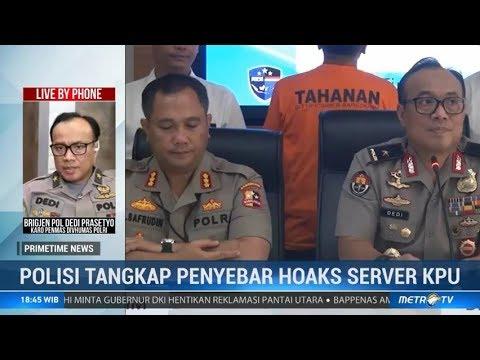 WN Bangun Narasi Hoaks Server KPU Bocor dan Diatur