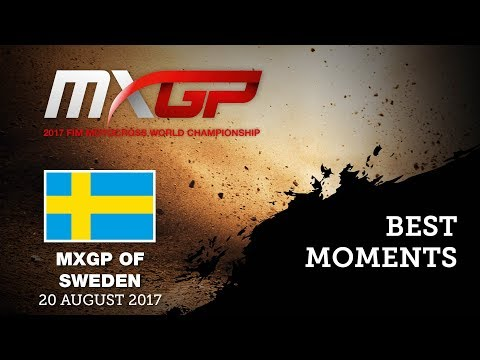 MXGP Best Moments - MXGP of Sweden 2017 - motocross