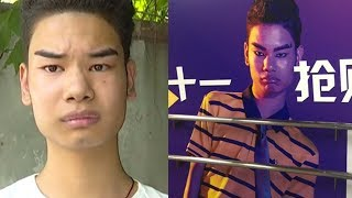 Boy with funny eyebrows goes viral in China, enters show business
