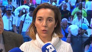 """Gamarra califica al Gobierno de Sánchez de """"dos en uno"""""""
