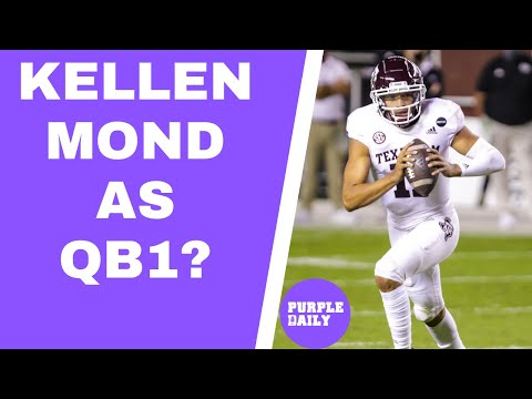 When will Kellen Mond take over as Minnesota Vikings starting quarterback?