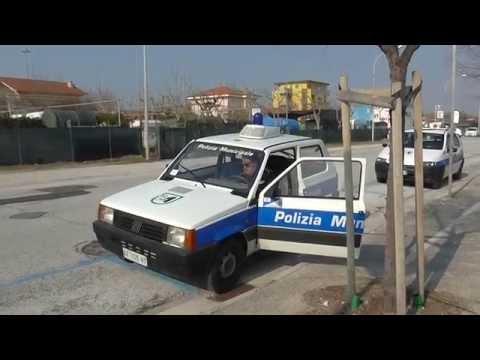 (Test Sirens & Lights) Polizia Municipale / Italian Municipal Police