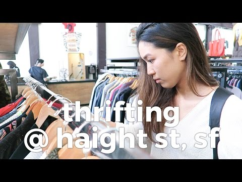 Thrifting at Haight Street, San Fransico // Why I Thrift