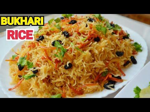 Bukhari Rice (Arabic Rice) by YES I CAN COOK #ArabianFood #ArabicRecipes #BukhariRice #SaudiRice
