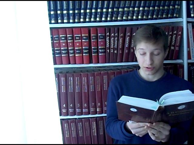 Изображение предпросмотра прочтения – ГлебХаев читает отрывок изпроизведения «В круге первом» А.И.Солженицына