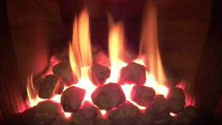 Gas Fires Gazco E BOX Living Flame Coal  Effect Movie by www.TheGasCompany.ie
