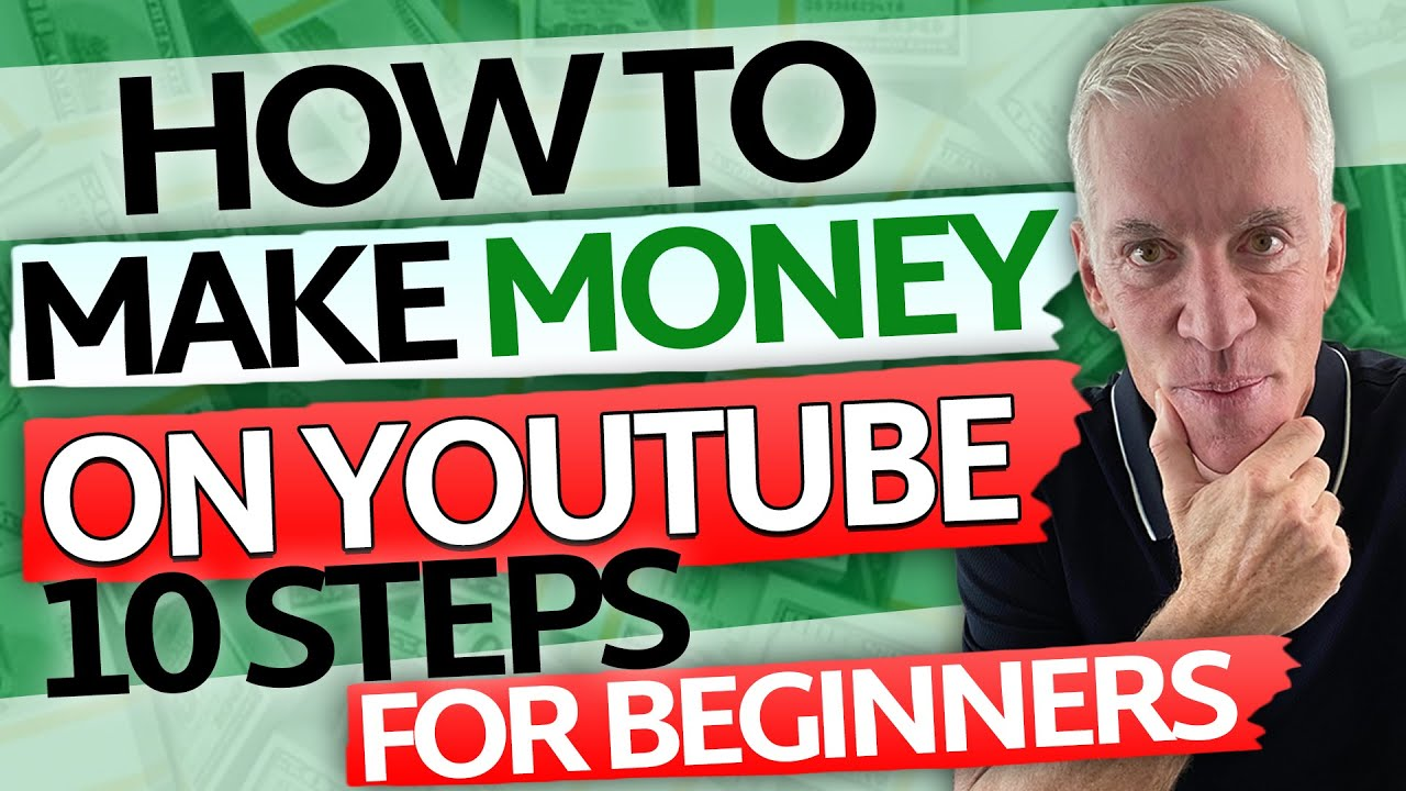Download How to make money on YouTube: 10 steps for beginners. See what you need to do and become a star!