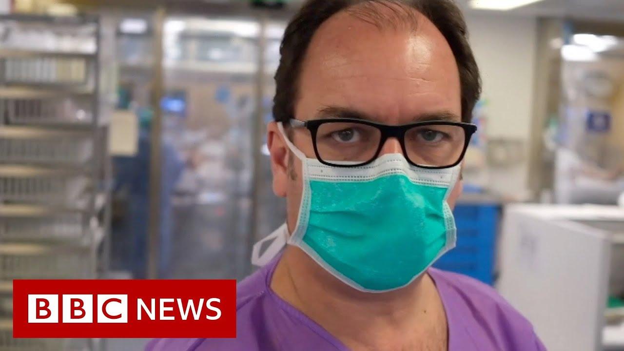 Barcelona's ICUs dealing with Coronavirus