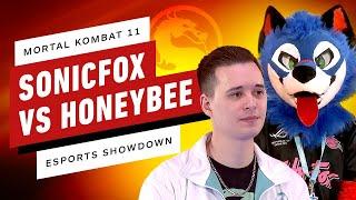Mortal Kombat 11 - SonicFox VS HoneyBee - IGN Esports Showdown!