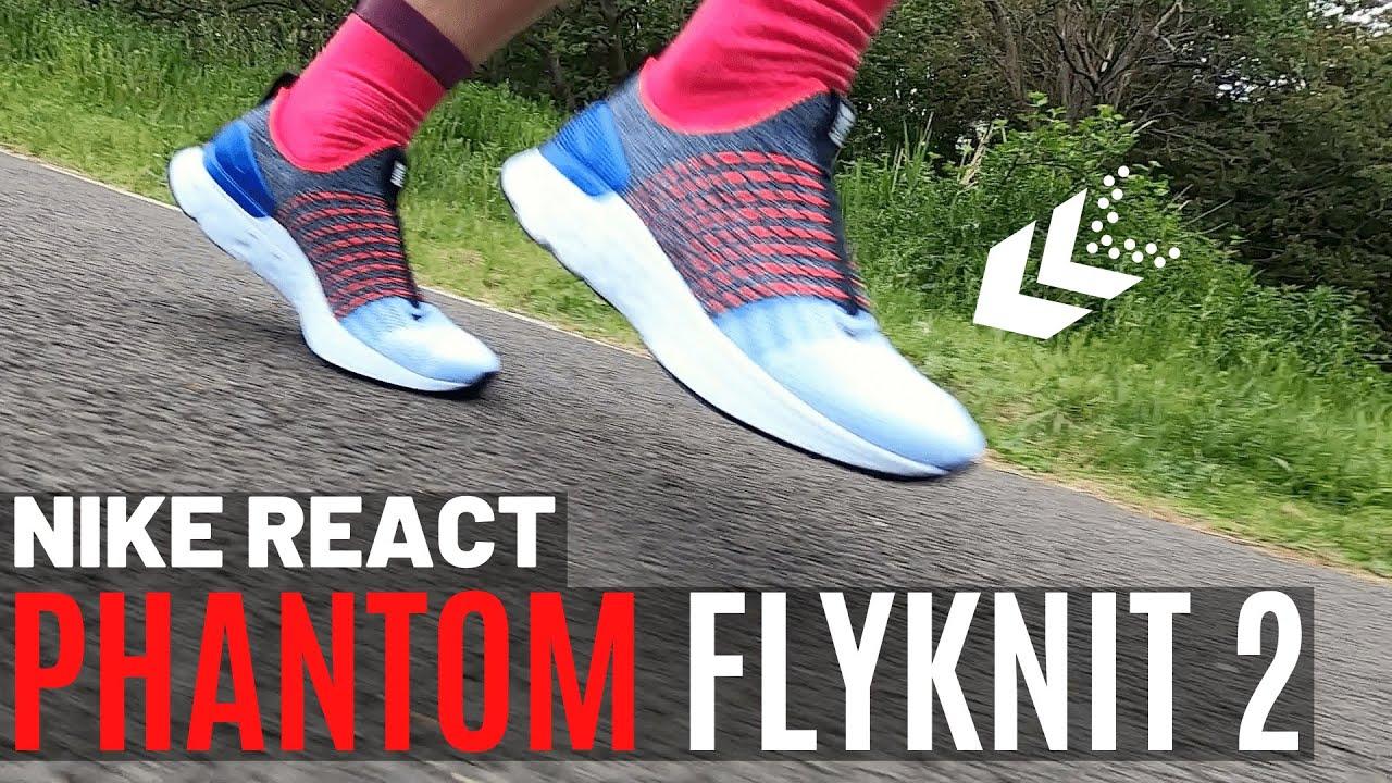 nike react phantom flyknit
