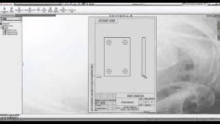работа в SolidWorks. Выполнение чертежей. основные сведения (7 урок)