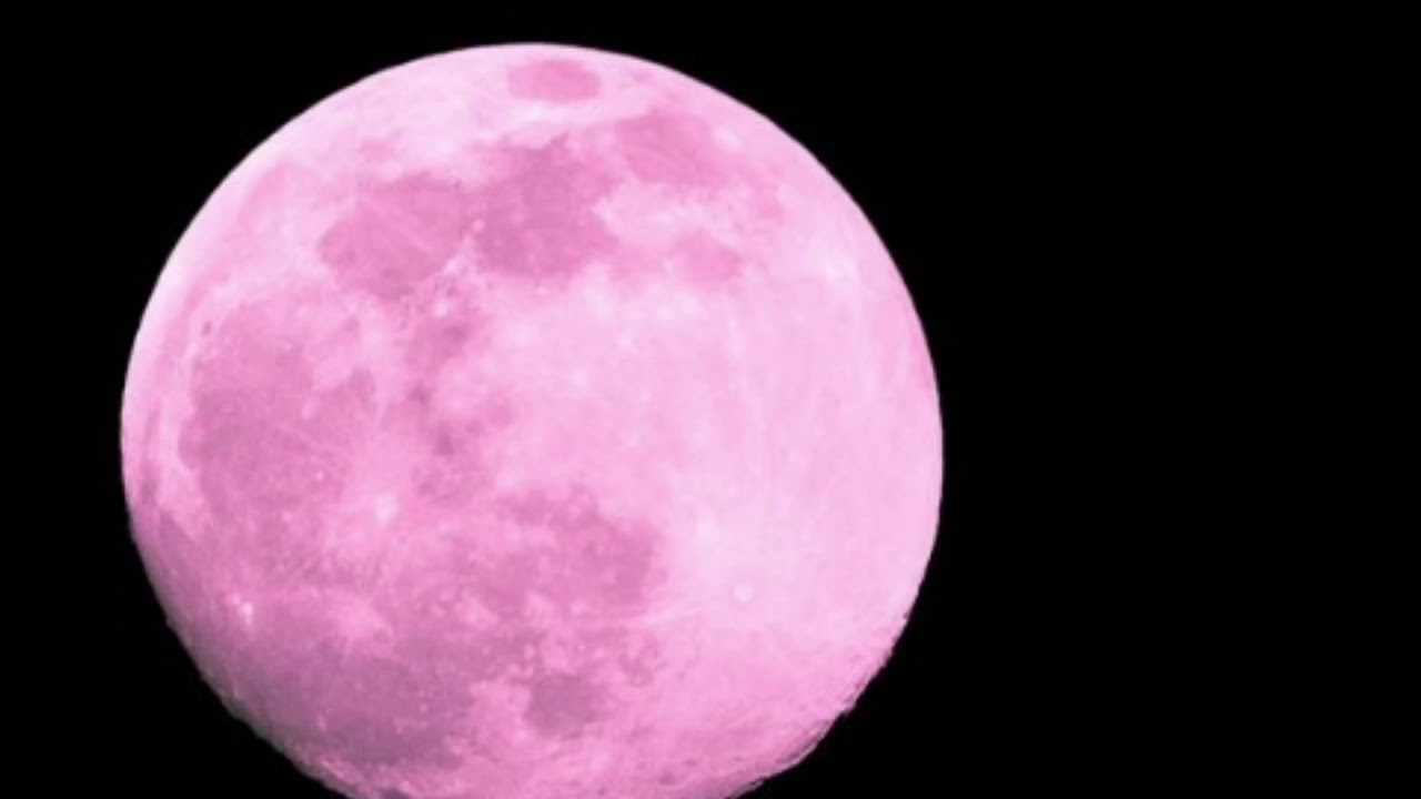 Pink Moon 2018 What Time Is The Pink Moon Tonight Why Do