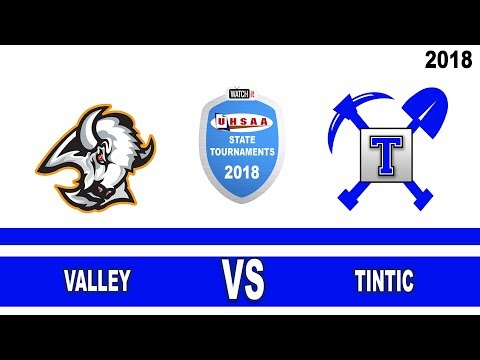 1A Boys Basketball: Valley vs Tintic High School UHSAA 2018 State Tournament Single Loss Semifinals