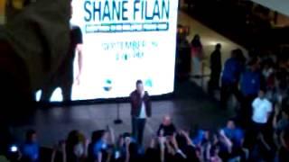 Shane Filan singing What About Love