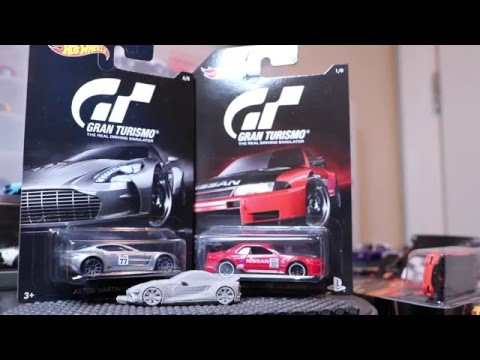 Lamley Unboxing: Opening the 2016 Hot Wheels Gran Turismo set...
