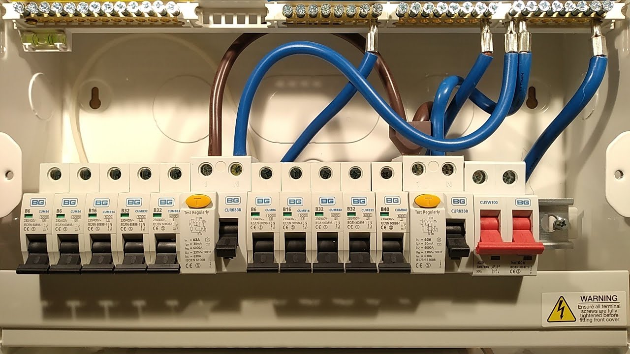 A Peek Inside A Typical British Residential Power Panel | aday Uk Wiring A Circuit Breaker on wiring a motor, wiring a antenna, wiring a power cable, wiring a ballast, wiring a coil, wiring a housing, wiring a distribution box, wiring a ammeter, wiring a terminal, wiring a hose, wiring a battery, wiring switch, wiring a choke, wiring a headlight, wiring a timer, wiring a extension cord, wiring a washer, wiring a diode, wiring a contactor, wiring a counter,