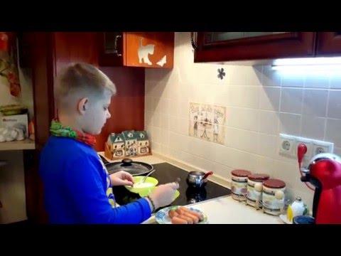 Готовим быстрое блюдо Сосиска по - киевски