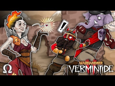 THEY CAN'T RESIST MY INNER FIRE!   Warhammer: Vermintide 2 Ft. Cartoonz, Gorillaphent (FIXED!)