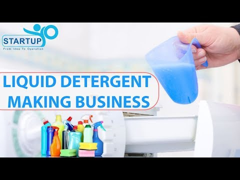 Liquid Detergent Making Business | StartupYo | www startupyo