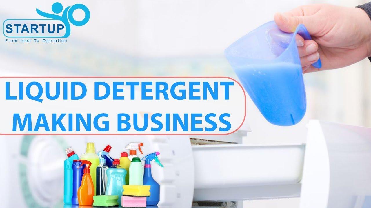 Liquid Detergent Making Business   StartupYo   www startupyo com