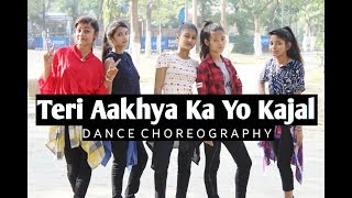 Teri Aakhya Ka Yo Kajal | Official Dance Video | Sapna Chaudhary | Choreography By Rajesh Sharma