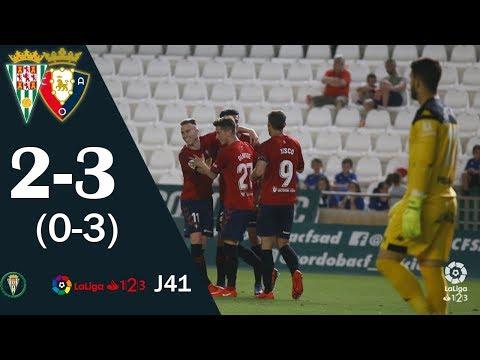 Gol De Luis Perea (0-3) En El Córdoba 2-3 Osasuna | Liga 1,2,3 2018/19