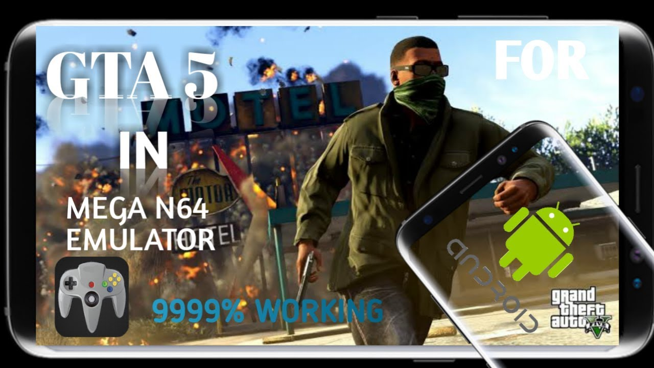 How to download gta 5 in mega n64 emulator (100%working)