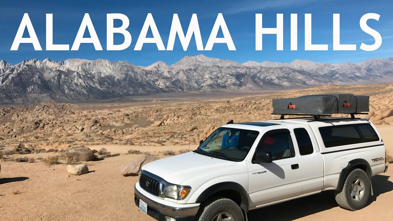 Rooftop Tent Camping Near The Alabama Hills Tepui