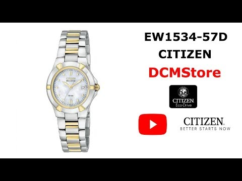 EW1534-57D Citizen Ecodrive Ladies Coleccion Riva .... DCMStore