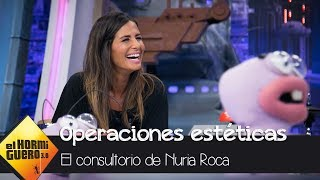 Pablo Motos desvela qué operación estética se hizo Nuria Roca  - El Hormiguero 3.0