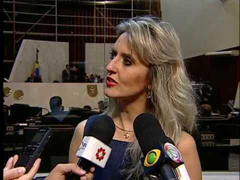 Repórter Assembleia 29 de maio de 2017 - Juíza Branca Bernardi