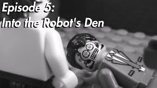 Silver Shroud in LEGO, Episode 5: Into the Robot's Den