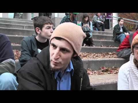 Occupy St. Louis - Provocateur? Tea Party activist? Undercover?